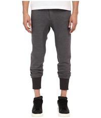 The Kooples Fancy Mix Cotton Fleece Pants Grey Men's Casual Pants Gray