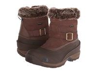 The North Face Chilkat Iii Pull On Rain Drum Brown Mediterranea Green Women's Cold Weather Boots