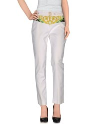 Class Roberto Cavalli Trousers Casual Trousers Women White