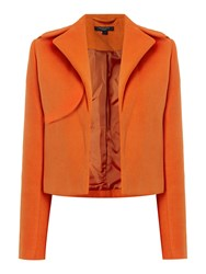 Therapy Jayden Crop Jacket Orange