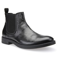 Geox Blade Leather Chelsea Boots Black