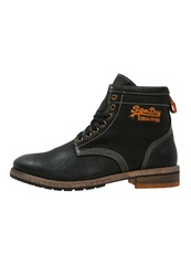 Superdry Winter Boots Black
