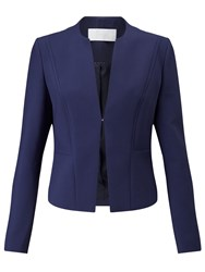 Hugo Boss Boss Jasala Edge To Edge Blazer Open Blue