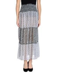 Amy Gee Long Skirts Grey