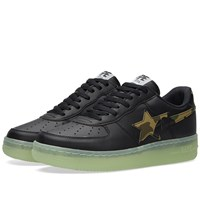A Bathing Ape 1St Camo Glow In The Dark Bape Sta Black