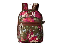 Sakroots Artist Circle Utility Backpack Olive Flower Power Backpack Bags Brown
