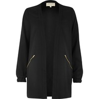 River Island Womens Black Lightweight Woven Jacket