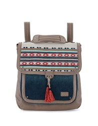 The Sak Ventura Backpack Shitake Loom
