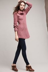 Anthropologie Rosie Cowlneck Pullover Rose