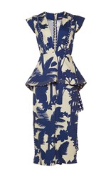 Johanna Ortiz Palmtree Shadow Peplum Dress Print