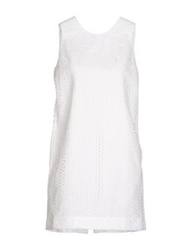 Aimo Richly Short Dresses White