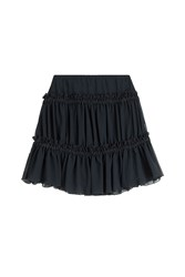 See By Chloe See By Chloe Ruffled Mini Skirt Blue