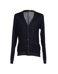 Become Knitwear Cardigans Men Dark Blue