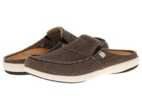 Spenco Siesta Slide Java Men's Clog Shoes Brown