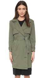 N Nicholas Trench Coat Military