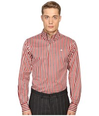 Vivienne Westwood Luxury Stripe Krall Shirt Red Stripe