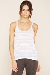 Forever 21 Active Shadow Stripe Cami