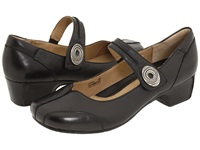Josef Seibel Cara Savonna Black Leather Women's Maryjane Shoes