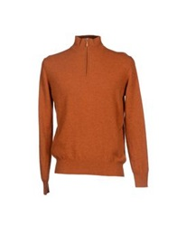 Della Ciana Turtlenecks Rust