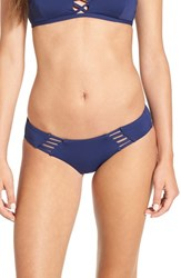 Rip Curl Women's Strappy Hipster Bikini Bottoms Navy