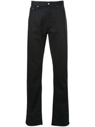 Kent And Curwen 'Fine Twill' Jeans Black