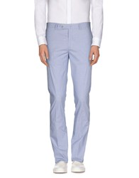 Hackett Trousers Casual Trousers Men Sky Blue