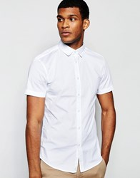 United Colors Of Benetton Short Sleeve Shirt White