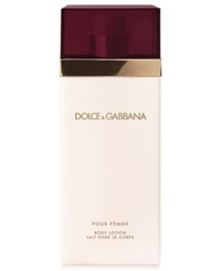 Dolce And Gabbana Pour Femme Body Lotion 8.4 Oz