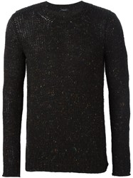 Roberto Collina Crew Neck Jumper Black