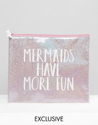 Paperchase Mermaid Pouch Multi