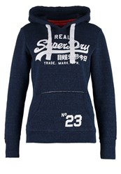 Superdry Hoodie Rugged Navy Dark Blue