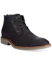 Guess Jamies Chukka Boots Men's Shoes Black