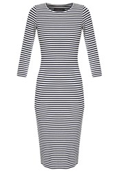 Evenandodd Jumper Dress Blue White