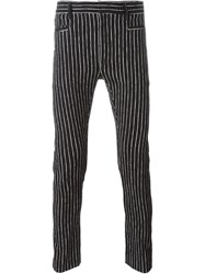 Haider Ackermann Pinstripe Trousers Black