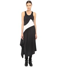 Yohji Yamamoto Motion Dress Black White Women's Dress