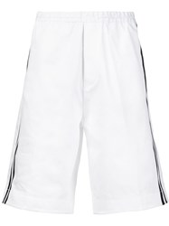 Dsquared2 Striped Track Shorts White