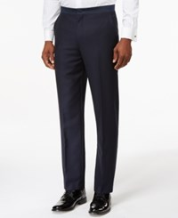 Ryan Seacrest Distinction Slim Fit Navy Textured Tuxedo Pants Only At Macy's
