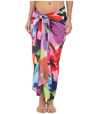 Miraclesuit Brite Side Scarf Pareo Cover Up Brite Women's Swimwear Pink