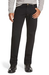 Prps 'Barracuda' Straight Leg Jeans Black Raw Selvedge