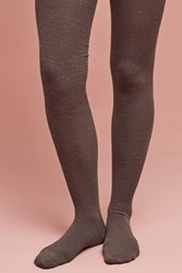 Anthropologie Confetti Tights Moss