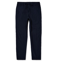 Folk Slim Fit Cotton Corduroy Trousers Blue
