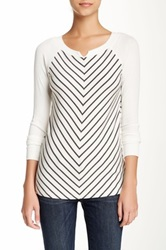 Tart Long Sleeve Kendell Tee Gray