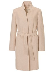 Betty Barclay Belted Coat Nature Melange