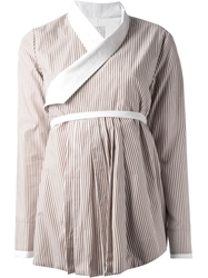 Stella Jean Long Length Shirt Nude And Neutrals