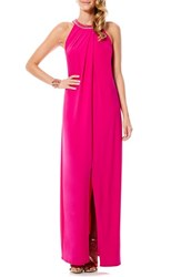 Women's Laundry By Shelli Segal Embellished Jersey Gown