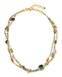Gurhan Phoenician Beaded Turquoise Necklace 16 18