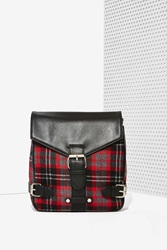 Nasty Gal X Nila Anthony Way Out West Plaid Backpack
