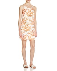 Cooper And Ella Seren Coral Print Dress