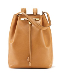 The Row Backpack 11 Leather Bag Copper Brown