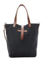 One By Type Alpha Large Tote Black